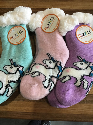 Nuzzles Kids Asst Unicorns One Size Fits Most
