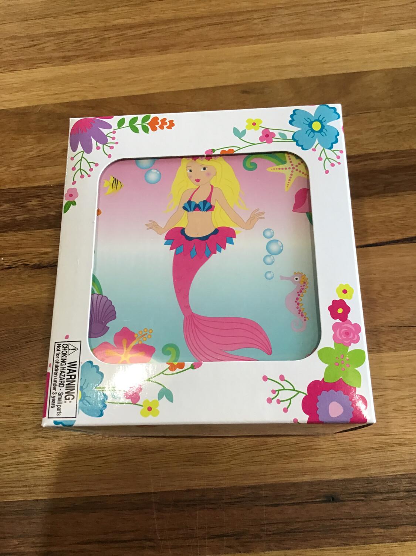 Pink Poppy Music Box Mermaid