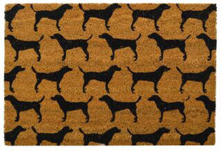 PVC Back Coir Mat - Dog FU1054