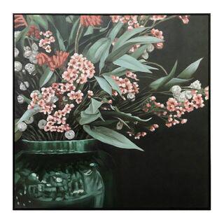 Flowers In Vase Oil Painting 100x100cm FP2500