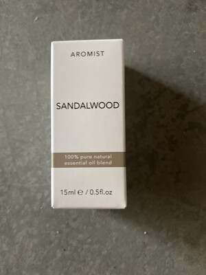 Aromist Natural Essential Oil 15ml - Sandalwood