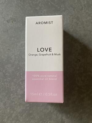 Aromist Natural Essential Oil 15ml - Love ~ Orange, Grapefruit & Musk