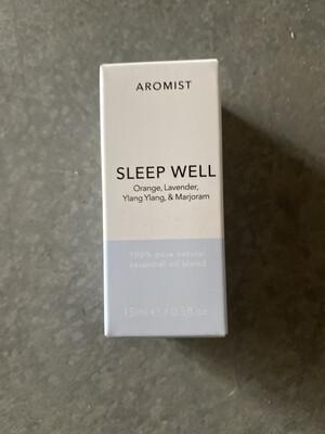 Aromist Natural Essential Oil 15ml - Sleep Well ~ Orange, Lavender, Ylang ylang & Marjoram