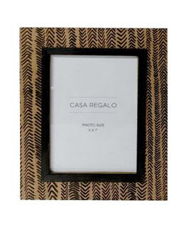 Paolo 5x7 Frame 20cm x 25cm Nat/blk FP1507