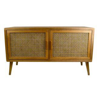 Mulberry Rattan/Wood Cabinet 122x40x69cm FU2485