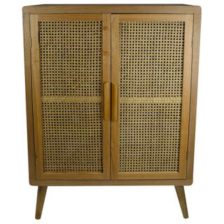 Mulberry Rattan/Wood Cabinet 80x36x112cm FP2486