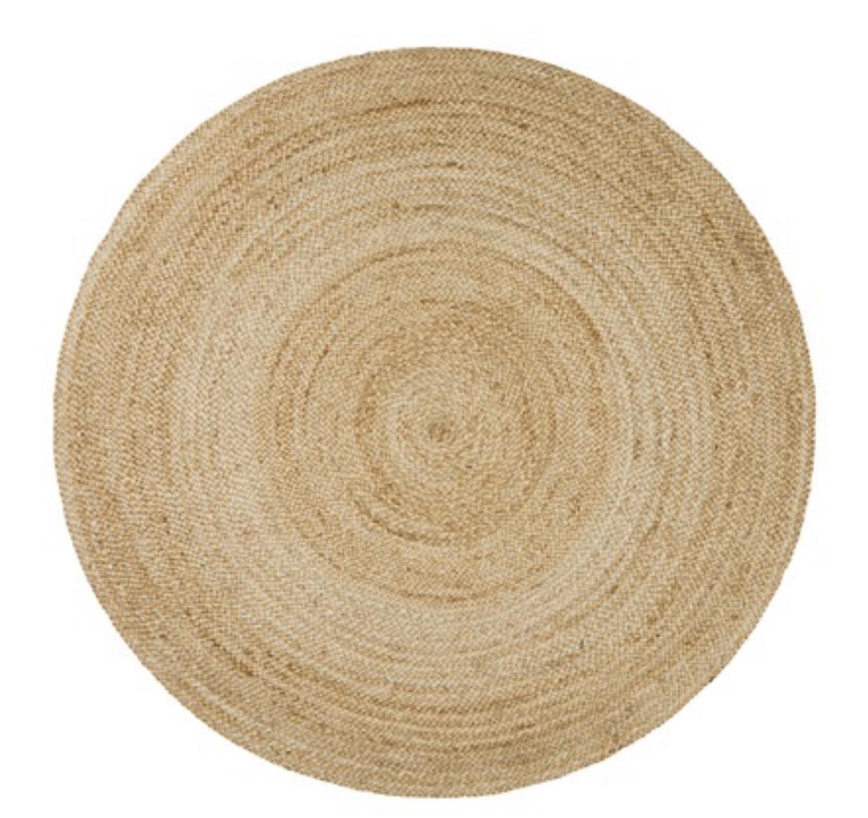 120cm Round Seagrass Mat