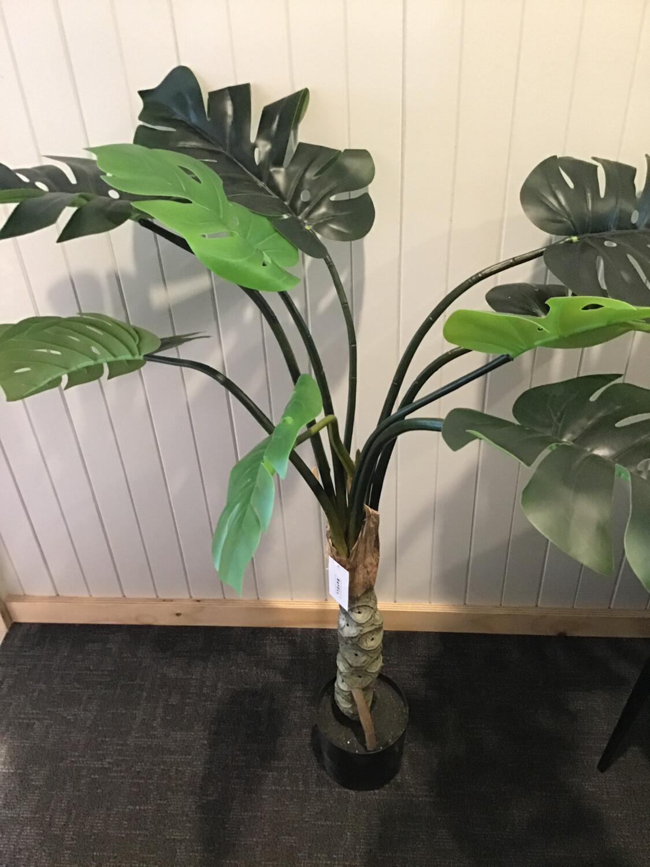 Artificial Plant - Green Monsteria Single 120cm