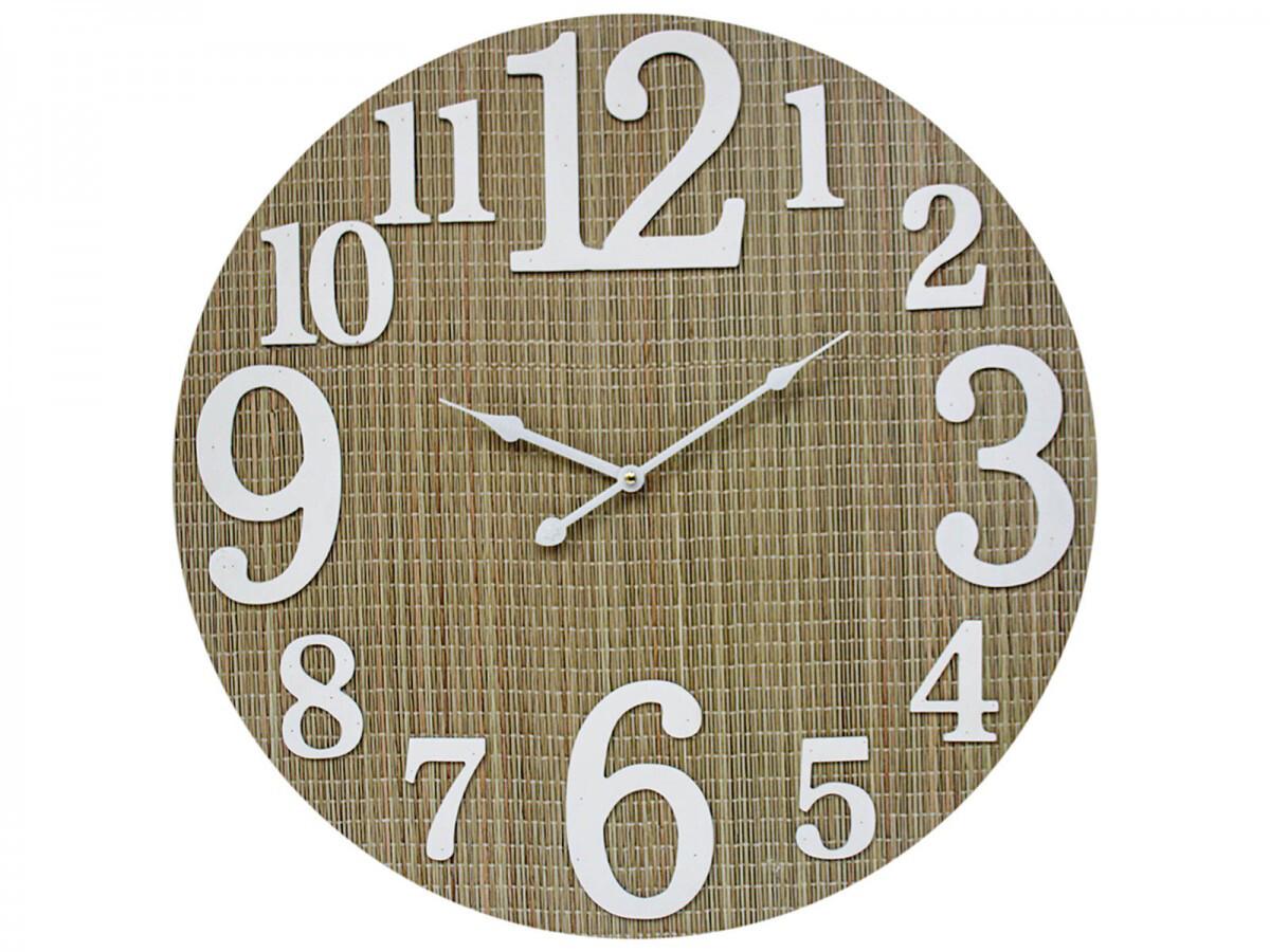 Bamboo Weave Clock 58cm LC9855-1