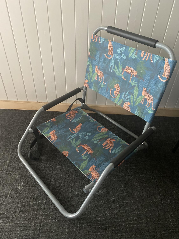 Beach Chair Folding - Jungle Safari