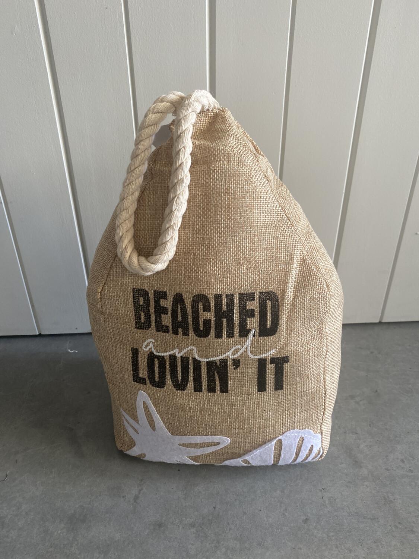 Beached & Lovin It Doorstop