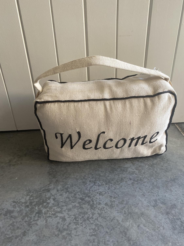 Welcome Door Stop