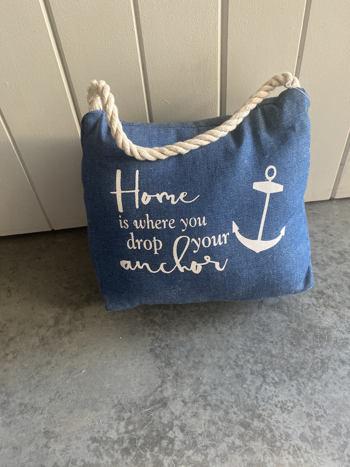 Home Is Where Your Anchor Is Doorstop