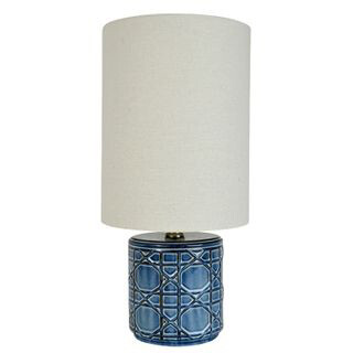 Hampton's Ceramic Lamp 21x43cm FU3140
