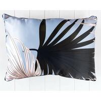 Hui Tropical Blue Cushion 56x41cm - Rectangle