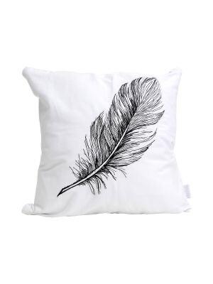 Splosh Embroidered Feather Cushion 45 X 45 TRQ007F