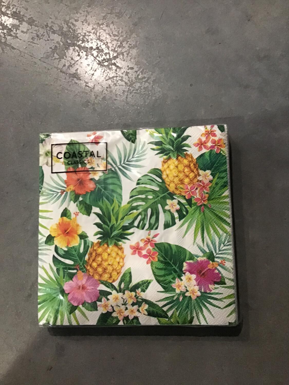 Pineapple Garden Napkin 3 Ply 20 Pack