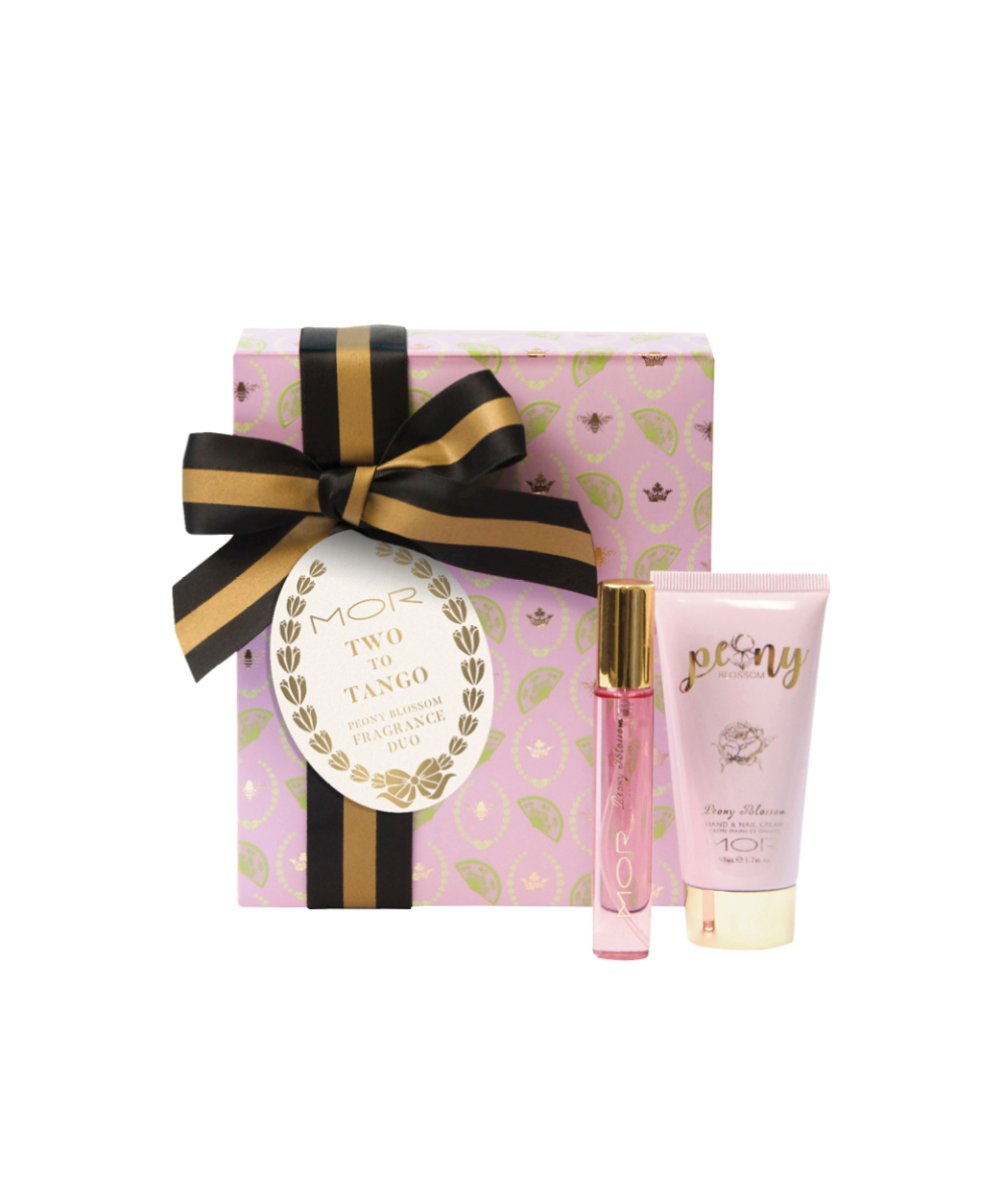 MOR Two To Tango Peony Blossom Fragrance Duo Gift Pack