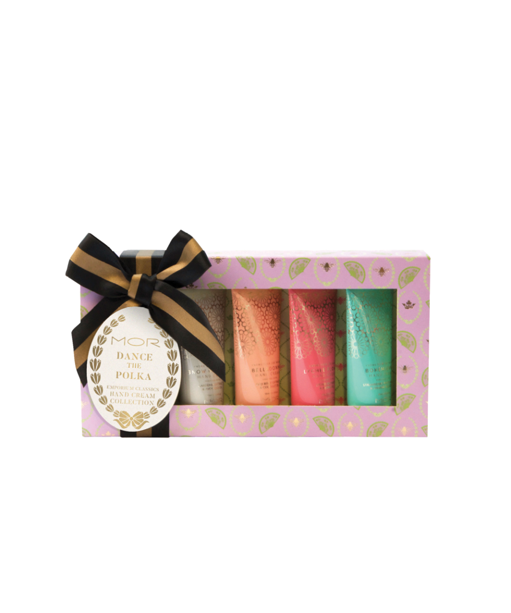 MOR Dance The Polka Emporium Classics Hand Cream Collection Gift Pack