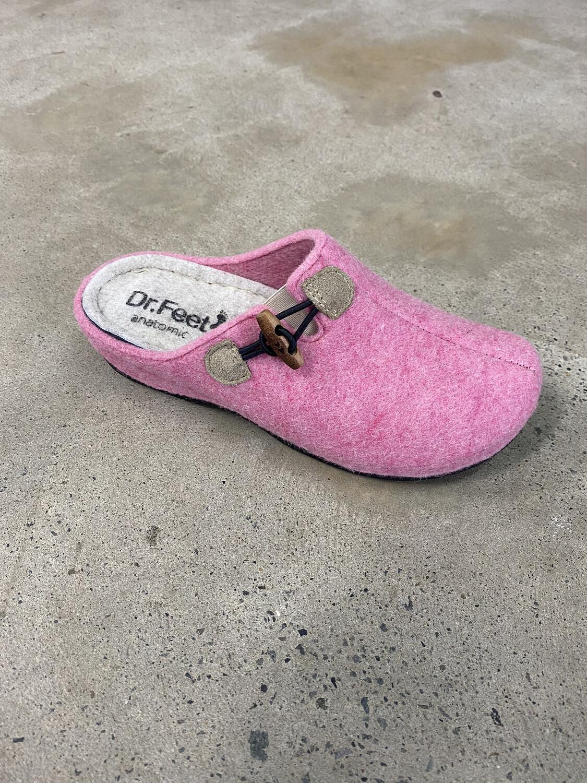 Dr Feet Slippers Floss Pink