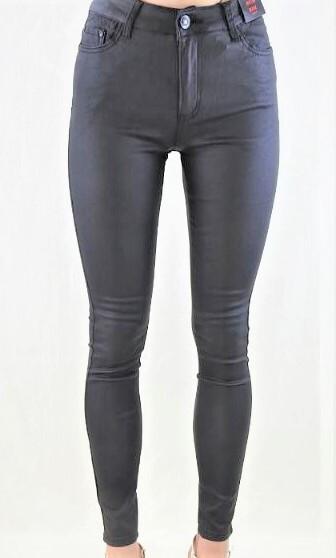Country Denim Wet Look Black Jeans CGJ9444