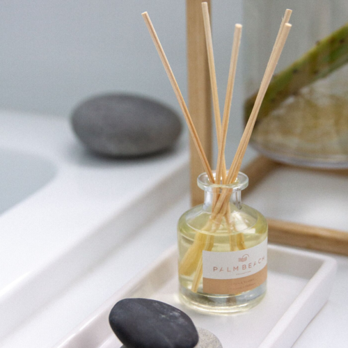 Palm Beach Mini Diffuser 50ml Up to 1.5 Months Scent Life - Lilies And Leather