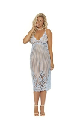 Eyelash Lace Gown