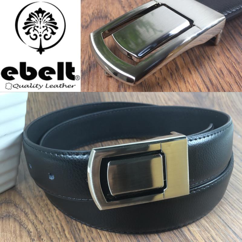 ebelt 光面牛皮皮帶 / 正裝皮帶 Cow Split Leather Dress Belt 3.3 cm - ebm0124M