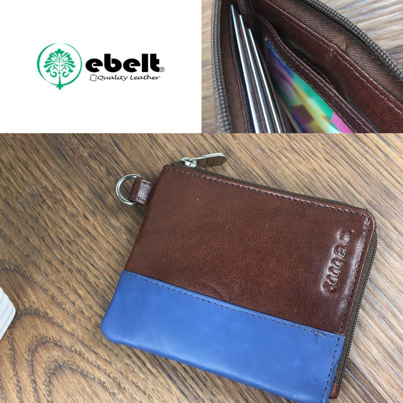 5000 B.C. 印度製 頭層牛皮名片包 Full Grain Leather Card Holder Wallet - K002