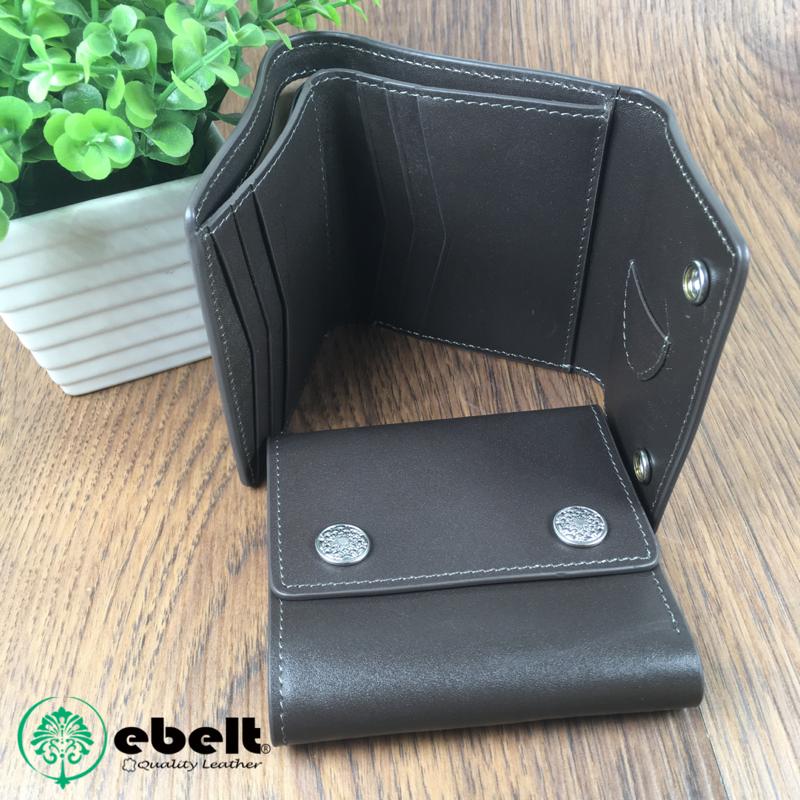 植鞣頭層牛皮銀包 Full Grain Cow Leather Wallet - BW0012