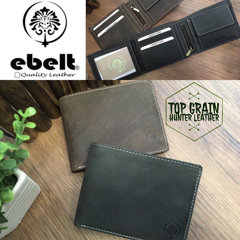 ebelt 印度製 頭層獵人水牛皮銀包 Full Grain Buffalo Hunter Series Leather Wallet - WM0118