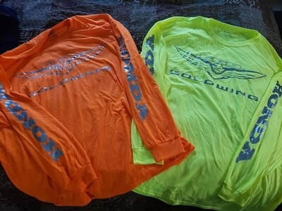 Goldwing F6B high vis long sleeve shirts