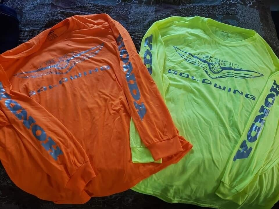 Goldwing F6B high vis long sleeve shirts
