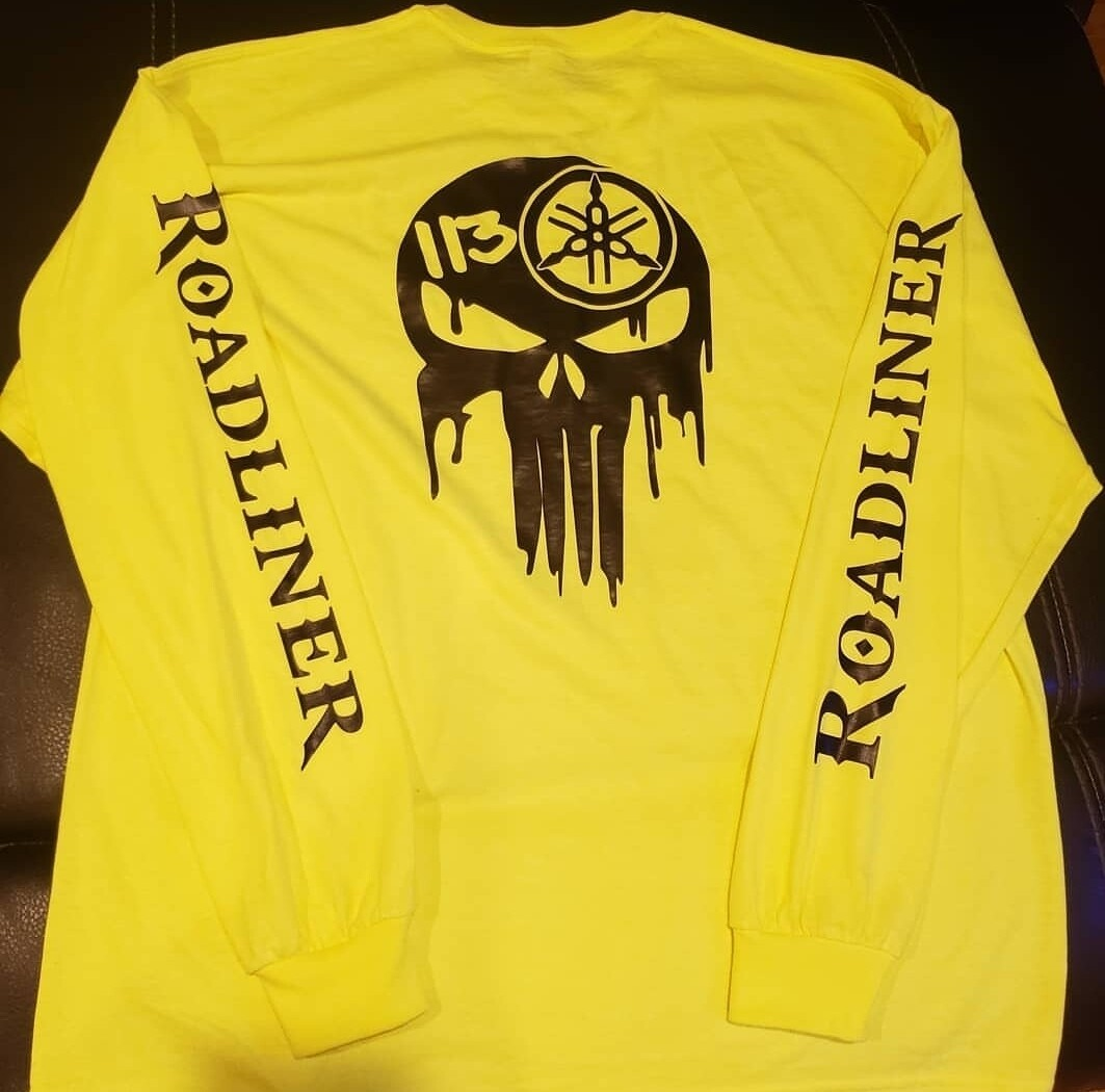 Roadliner long sleeve shirt W/ logo on sleeves