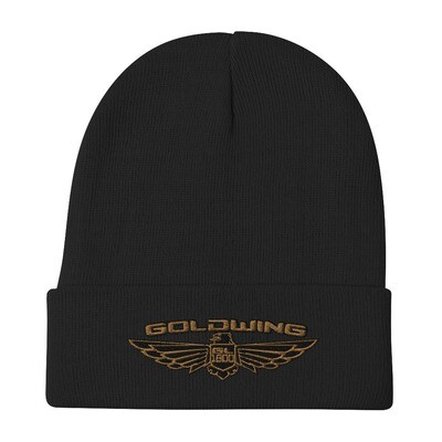 Goldwing Embroidered Beanie