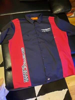 Custom Mens Goldwing  Dickie's mechanic shirts