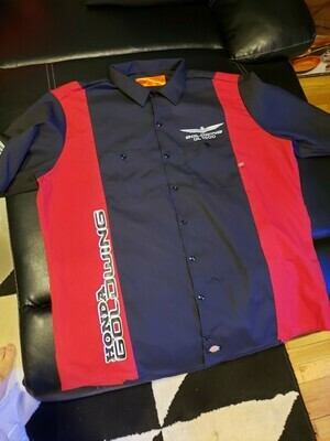 Custom Womens Goldwing  Dickie's mechanic shirts