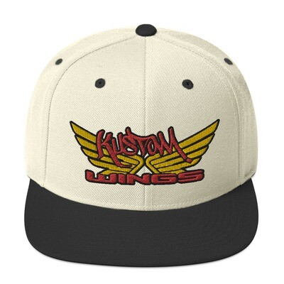KUSTOM WINGS NEW Snapback Hat