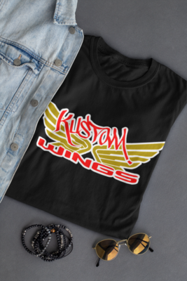 KUSTOM WINGS NEW DESIGN T-SHIRT