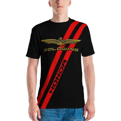 GOLDWING RED STRIPE EDITION Men's T-shirt