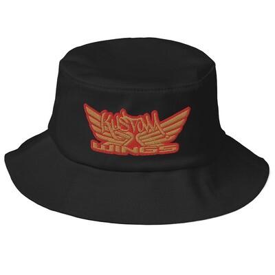 Goldwing Kustom wings Old School Bucket Hat