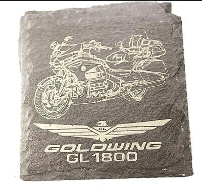 Custom Slate Goldwing GL1800 Coasters
