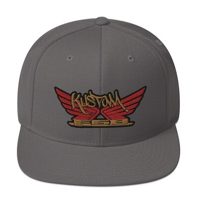 Kustom wings Snapback Hat