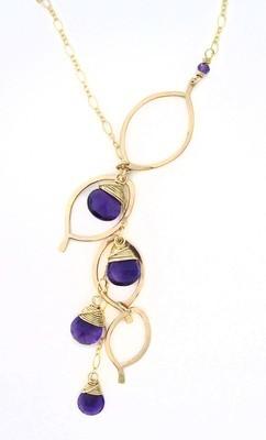 Chandelier Necklace - 14K Gold Fill