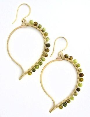 Paisley Earrings - 14k Goldfill