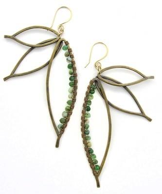 Paradise Earrings - Bronze