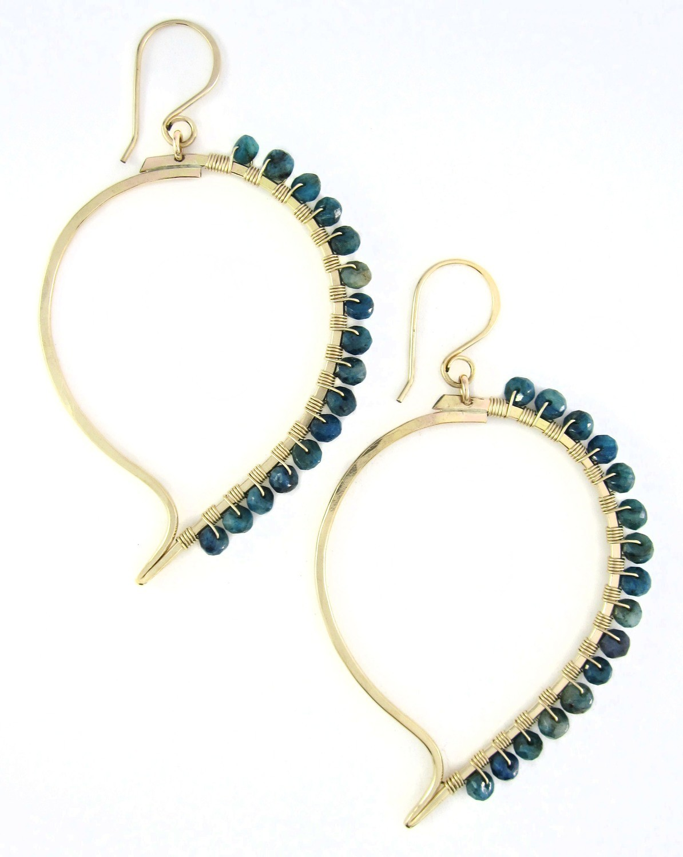 Paisley Earrings - 14K Gold Fill