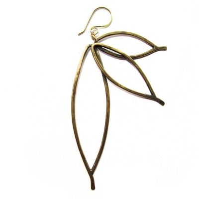 Paradise Earring - Bronze