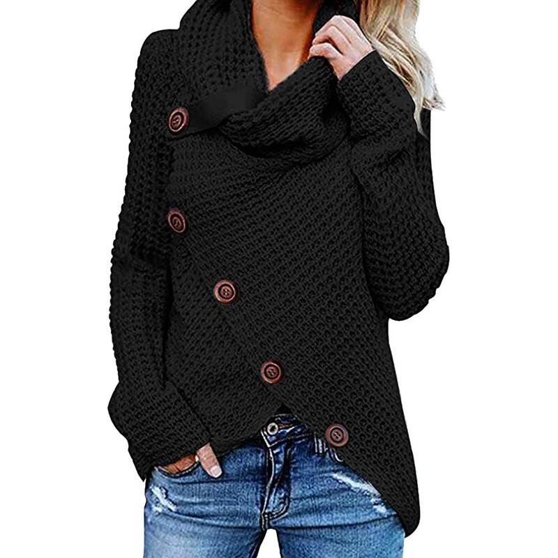 Women Chucky Crohet Sweaters Large