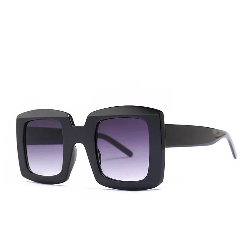 Unisex Square Sunglasses. Tea C7 Double Tea